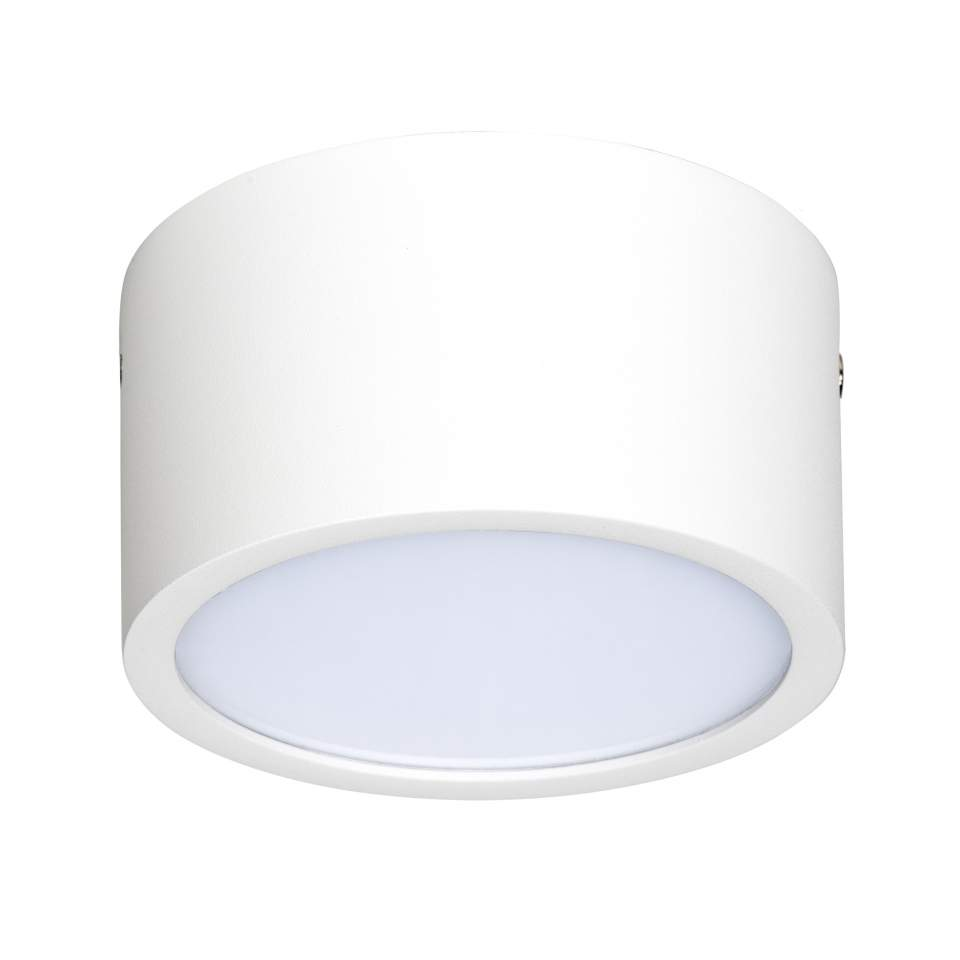 211916 Светильник ZOLLA CYL LED-RD 10W 780LM БЕЛЫЙ 3000K IP44 (в комплекте) | Lightstar LS211916